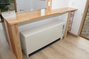 蓄熱式暖房機