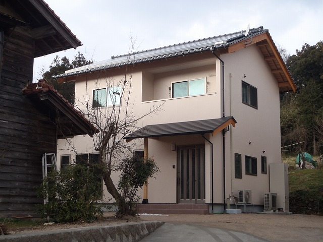 太陽光パネル搭載住宅