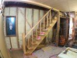 階段施工中!