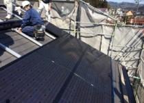 太陽光発電の施工日和り