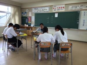 キャリアアドバイザー 横田中学校