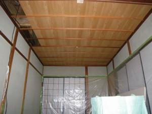 和室木天井・竿縁