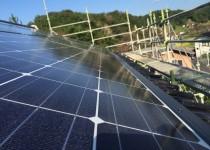 太陽光発電工事完了!
